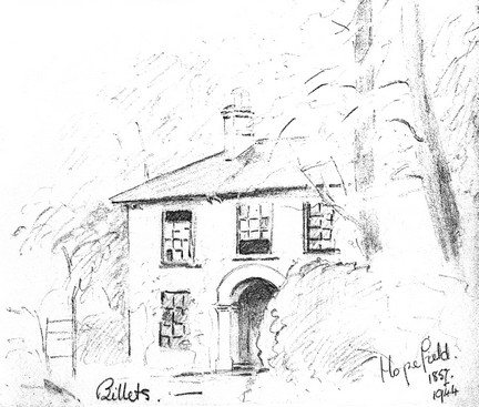 Hopefield House - Copyright June Gummer, by permission of Wg Cdr Alan Watkinson