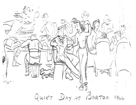 Quiet Day at Barton - Copyright June Gummer, by permission of Wg Cdr Alan Watkinson